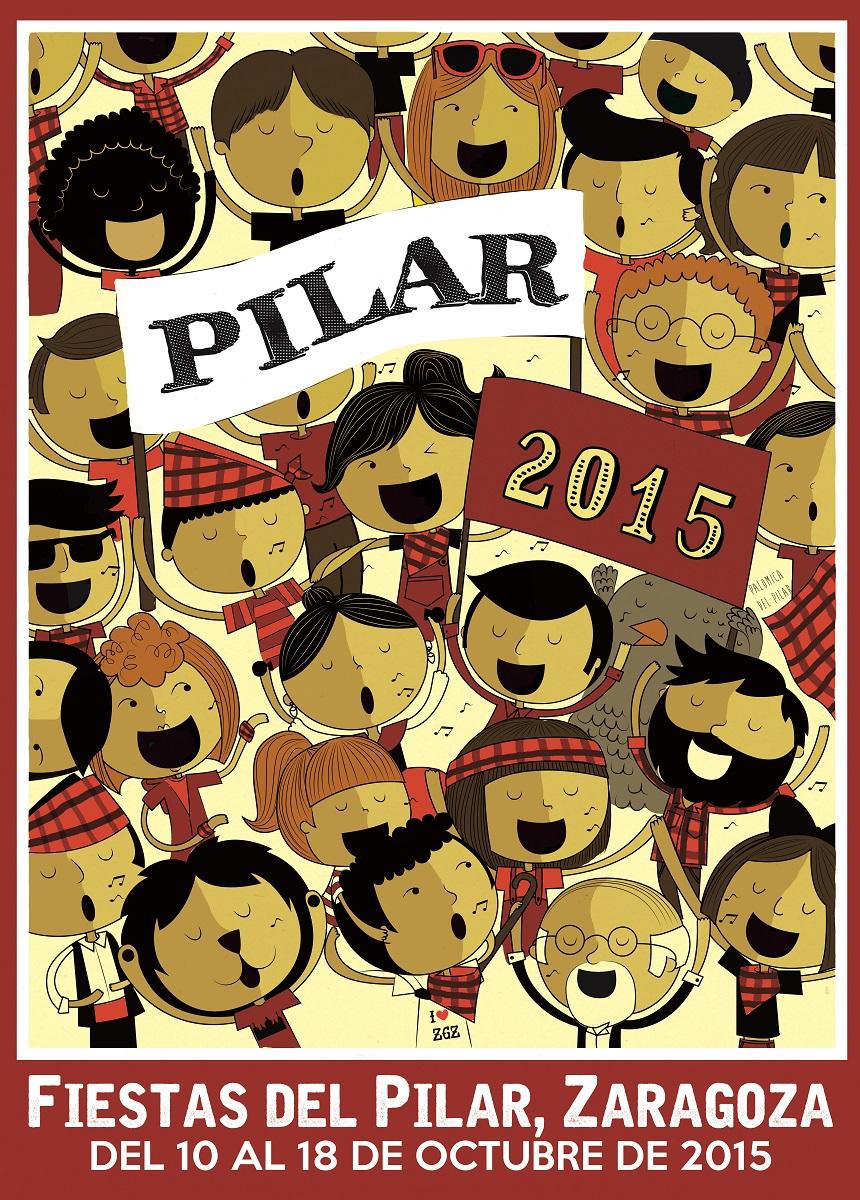 cartel pilar 2015