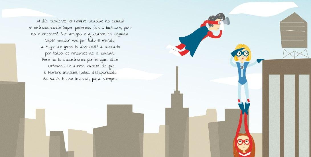 cuento super héroes Háblame de mi