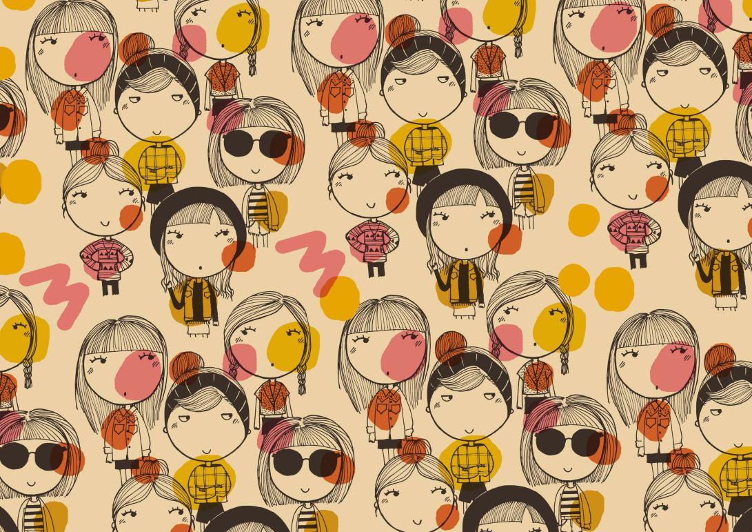 pattern Tea &  friends